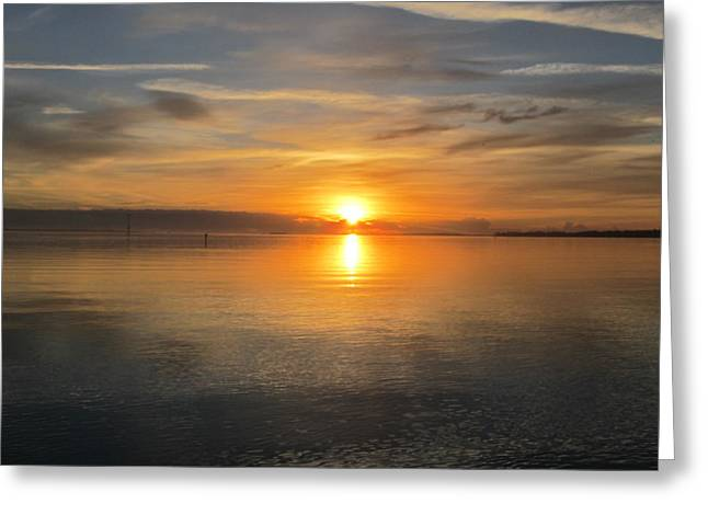 Greeting Card featuring the photograph Sunrise With God by Joetta Beauford