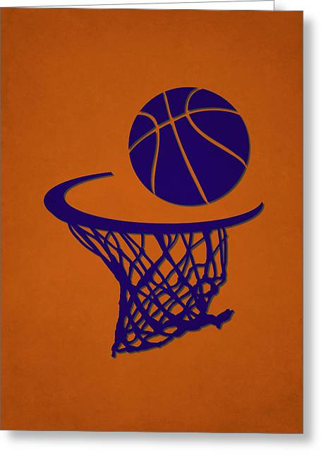 Suns Team Hoop2 Greeting Card