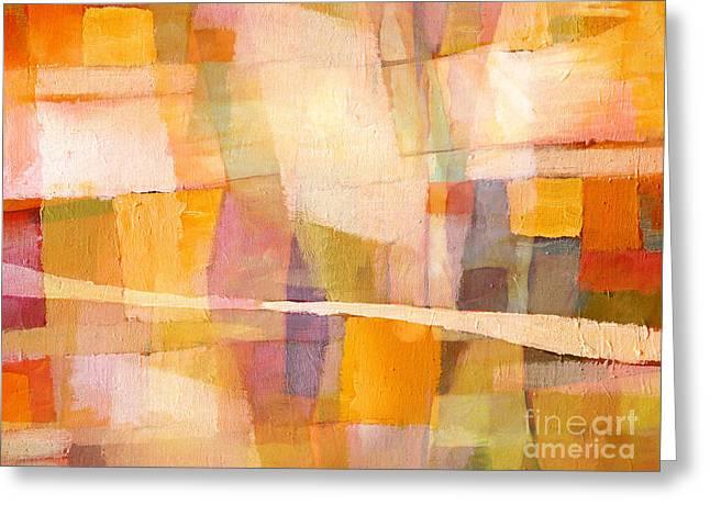 Sunscape Greeting Card by Lutz Baar