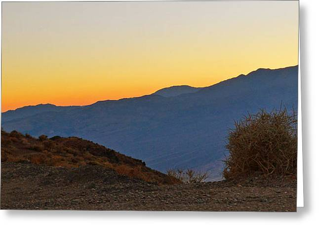 Greeting Card featuring the photograph Sunset - Death Valley by Dana Sohr