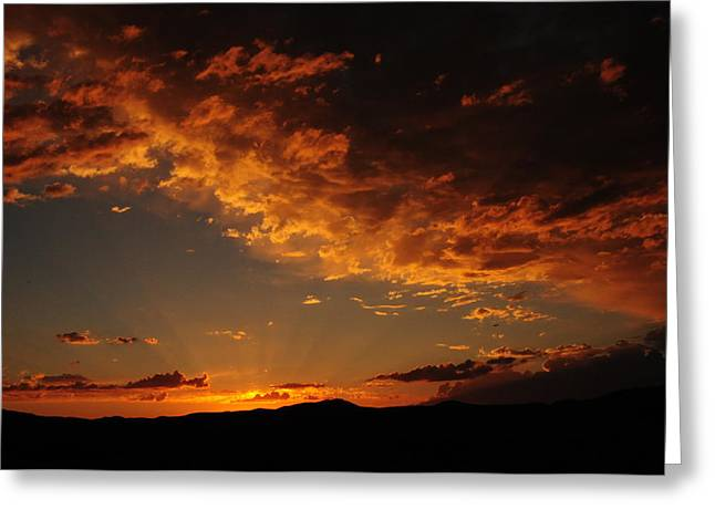 Greeting Card featuring the photograph Sunset 0983 by Janis Knight