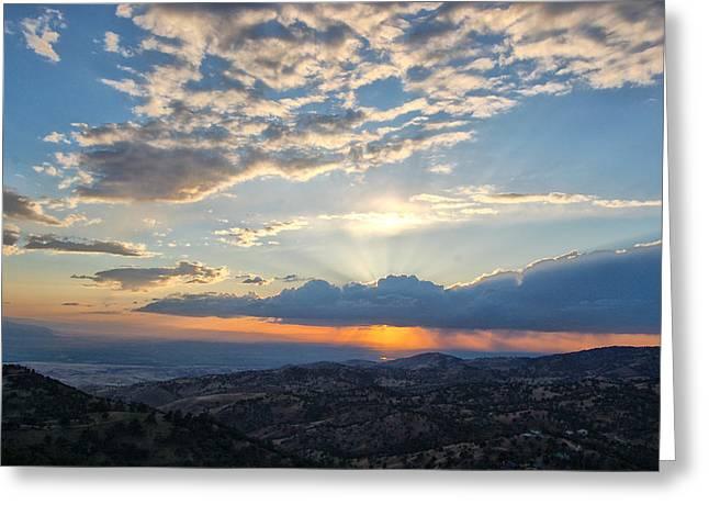 Sunset 101 Greeting Card
