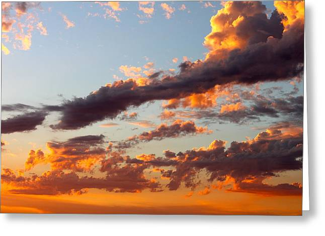 Sunset 5 Greeting Card by Ashley Balkan