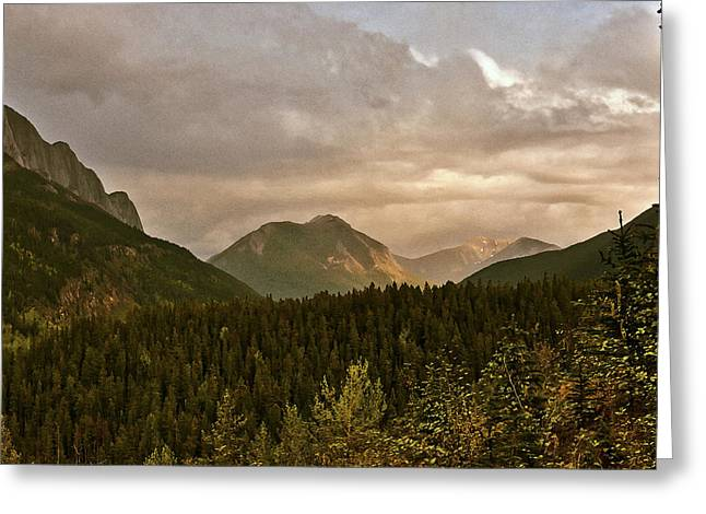 Sunset Alberta June Greeting Card by Larry Darnell