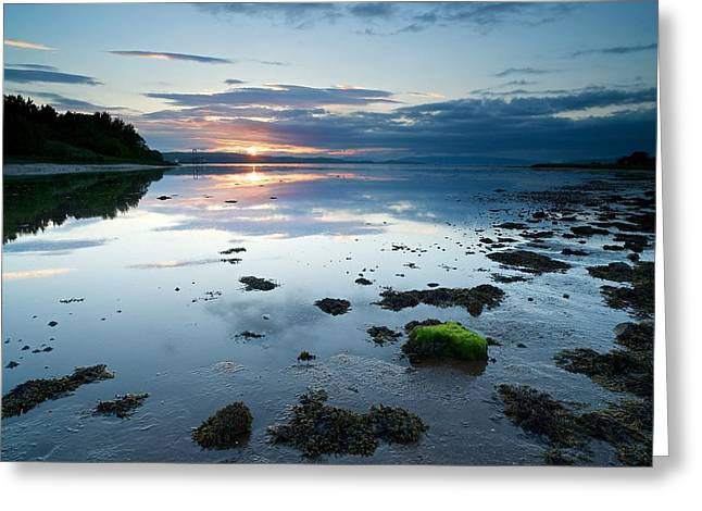 Sunset At Fairlie Greeting Card