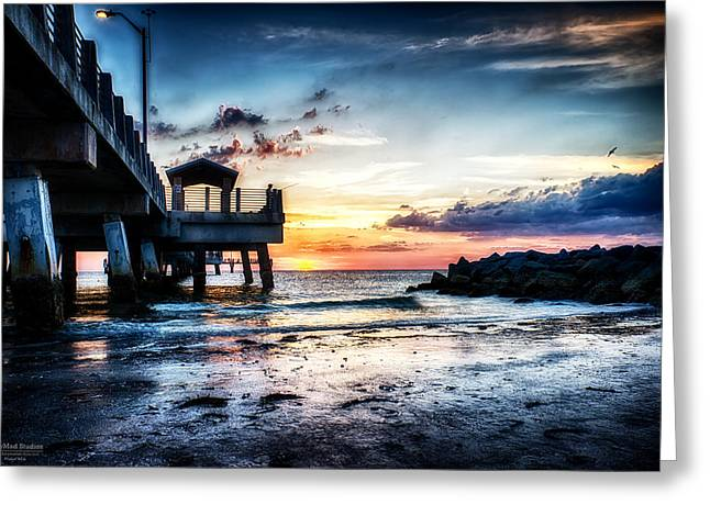 Sunset At Fort Desoto 3 Greeting Card
