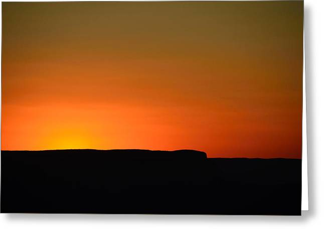 Sunset At Grand Canyon Greeting Card by RicardMN Photography