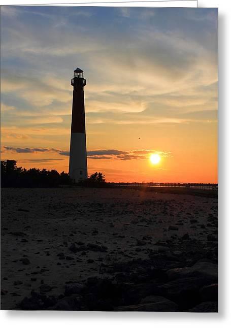 Sunset At Old Barney Greeting Card by Michelle Nixon