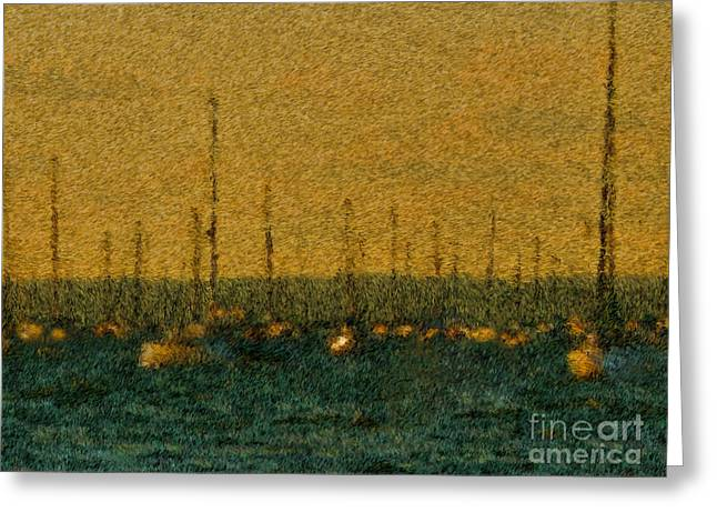 Sunset At Sea Cliff Greeting Card by Jeff Breiman