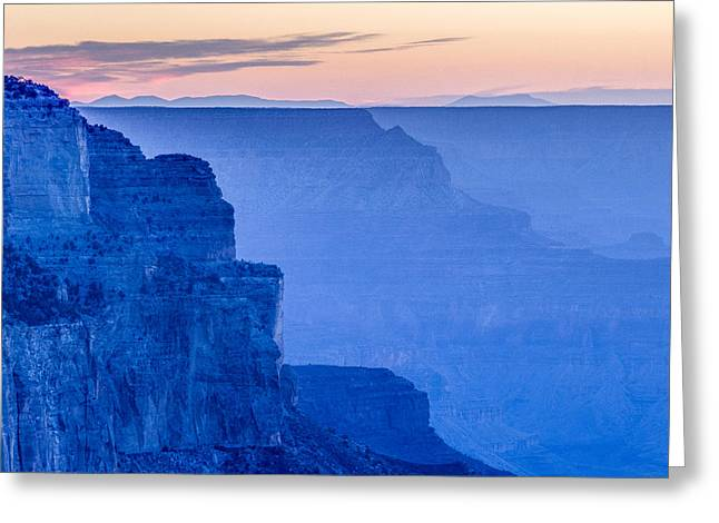 Sunset At The South Rim Greeting Card