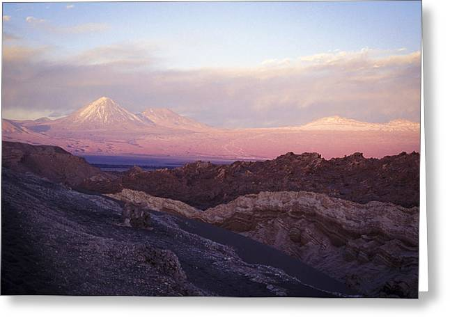 Greeting Card featuring the photograph Sunset At The Valley Of The Moon by Lana Enderle