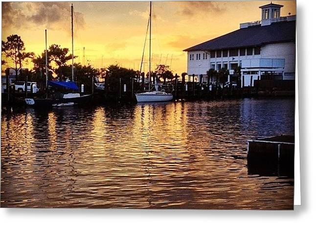 Sunset At Westend #iphone5 Greeting Card
