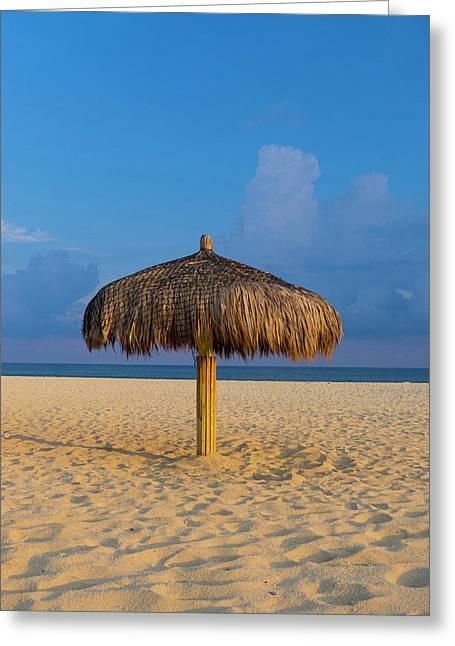Sunset, Beach, San Jose De Cabo, Baja Greeting Card by Douglas Peebles
