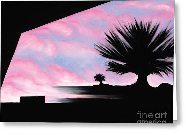 Sunset Boulevard Dreams Greeting Card by Tiffany Davis-Rustam