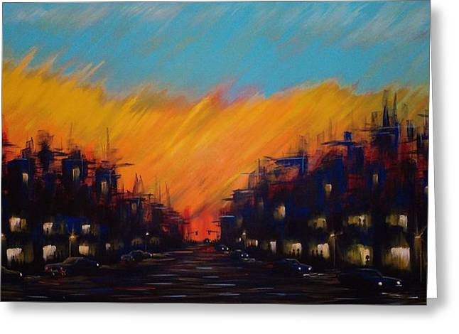 Sunset Boulevard Greeting Card