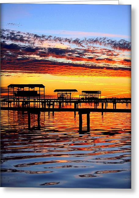 Sunset Breeze Greeting Card