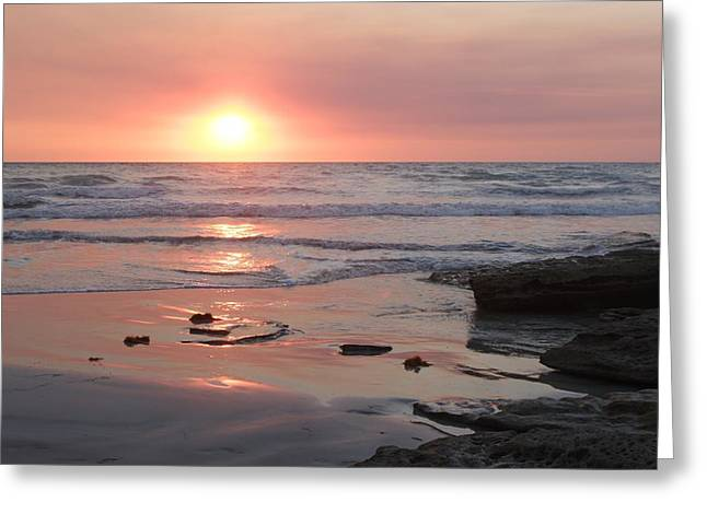 Sunset Cable Beach Greeting Card