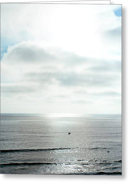 Sunset - California - Pacific Ocean Greeting Card by Vivienne Gucwa