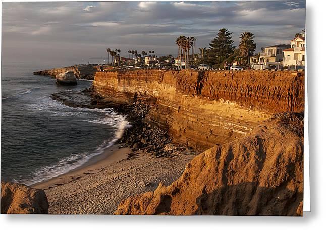 Sunset Cliffs 1 Greeting Card