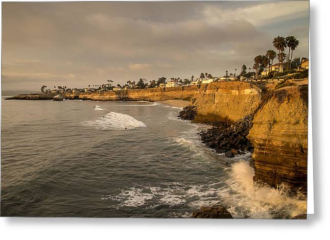 Sunset Cliffs 4 Greeting Card