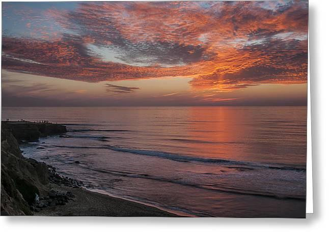Sunset Cliffs Sunset 2 Greeting Card