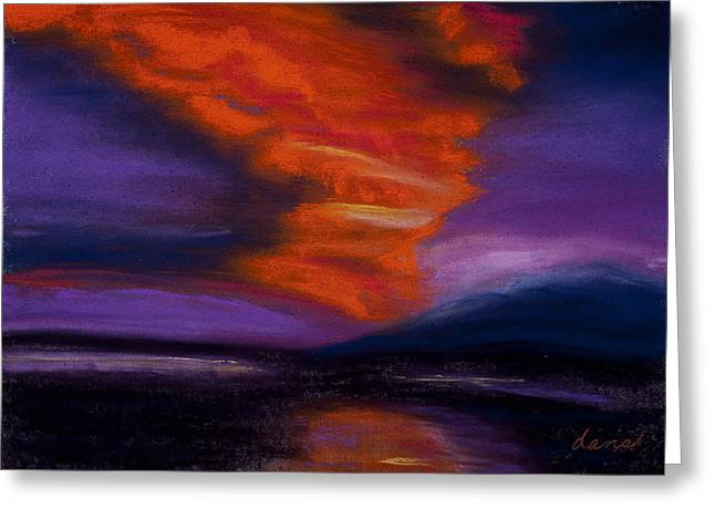 Sunset Greeting Card by Dana Strotheide