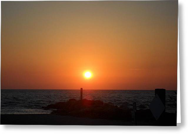 Sunset In Captiva Greeting Card