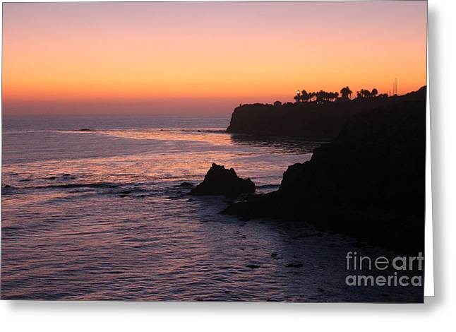 Sunset In Paradise Greeting Card by Bev Conover