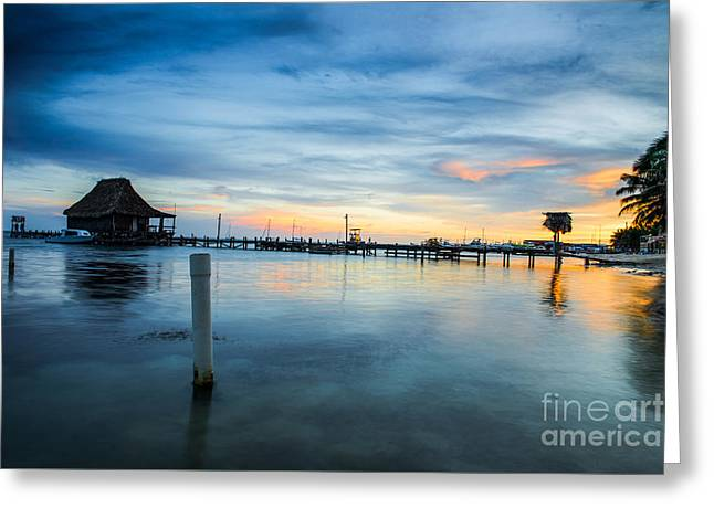 Sunset In San Pedro Greeting Card by Yuri Santin