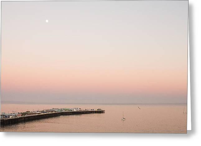Sunset In Santa Cruz 1 Greeting Card by Jake Holt