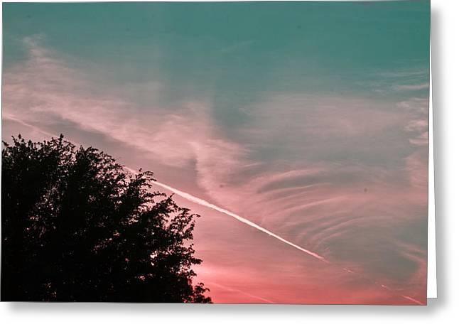 Sunset In Sarasota Sun 158 Greeting Card