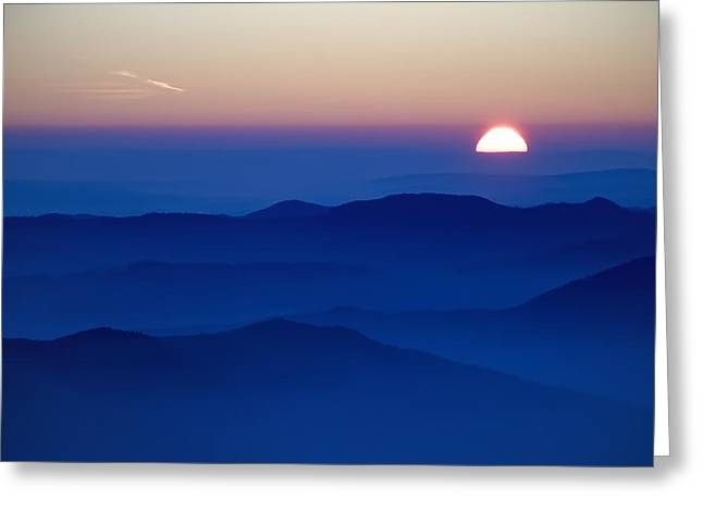 Sunset Greeting Card by Ioan Panaite