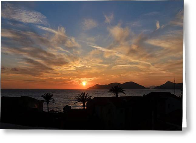 Sunset Greeting Card by Ivelin Donchev