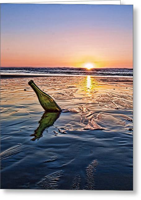 Sunset Memory  Greeting Card