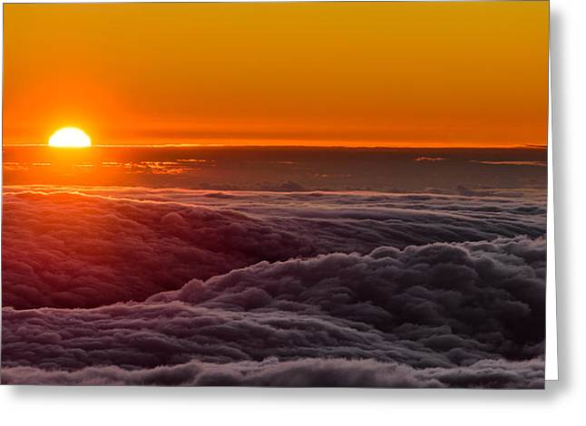 Sunset On Cloud City 1 Greeting Card