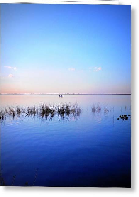 Sunset On Lake Washington 2 Greeting Card by Kay Gilley