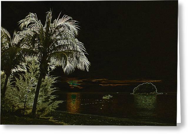 Sunset On Tioman Island Greeting Card by Sergey Lukashin
