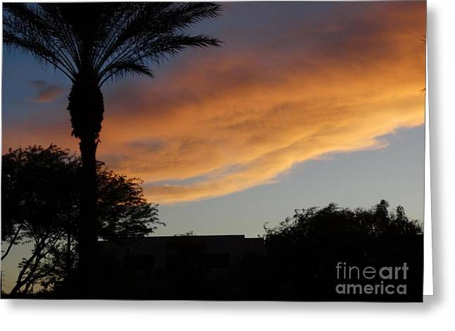 Sunset Over Las Vegas  Greeting Card