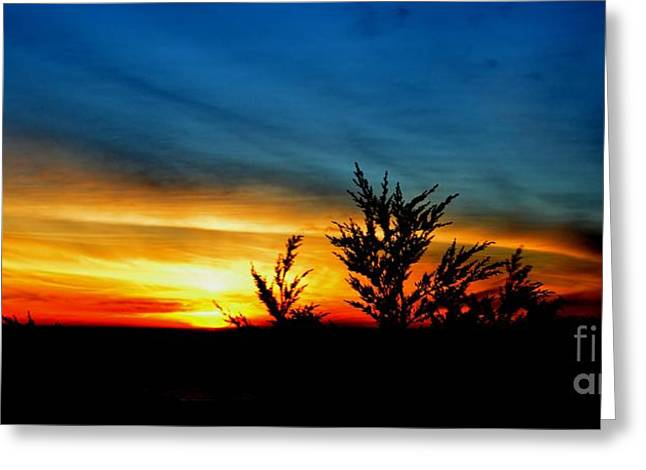 Sunset Overlooking Pacifica Ca IIi Greeting Card by Jim Fitzpatrick