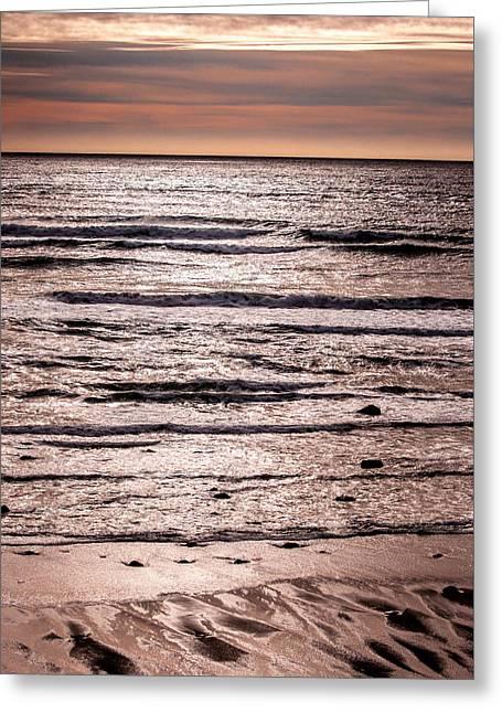 Sunset Ocean Greeting Card
