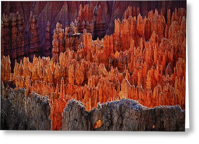 Sunset Point Bryce Canyon Utah Greeting Card