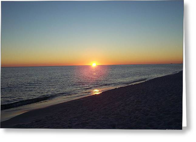 Greeting Card featuring the photograph Sunset Reflection by Michele Kaiser