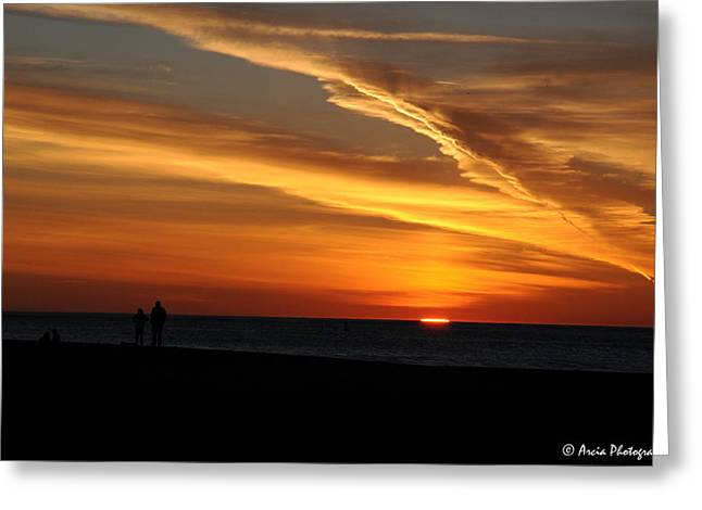 Sunset Sliver Greeting Card
