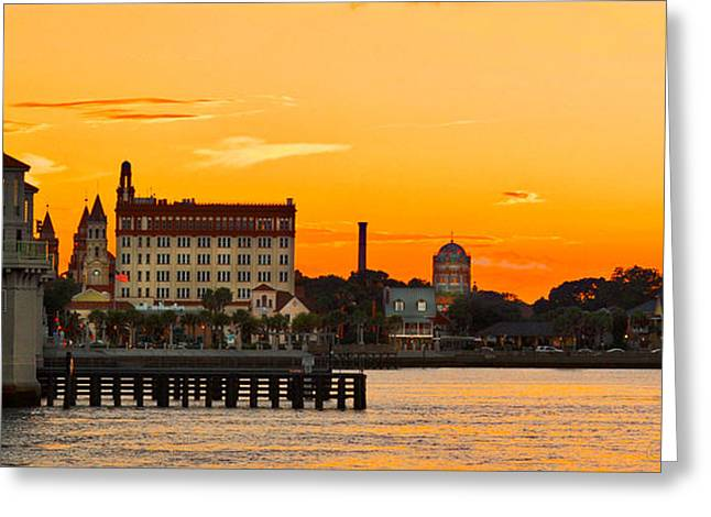 Sunset St. Augustine Greeting Card