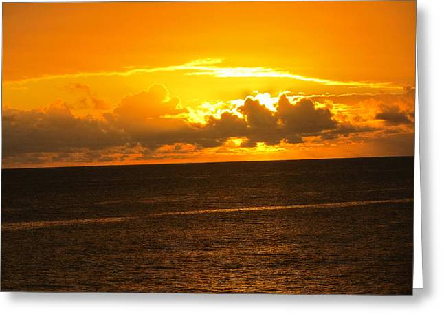 Sunset  Greeting Card by Stephanie Francis
