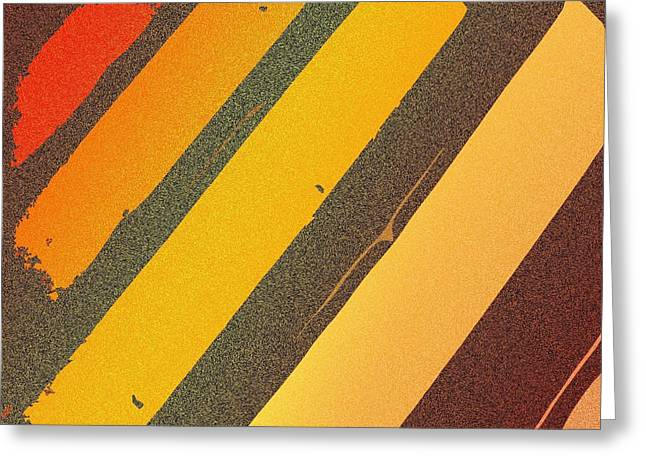Sunset Strips Greeting Card
