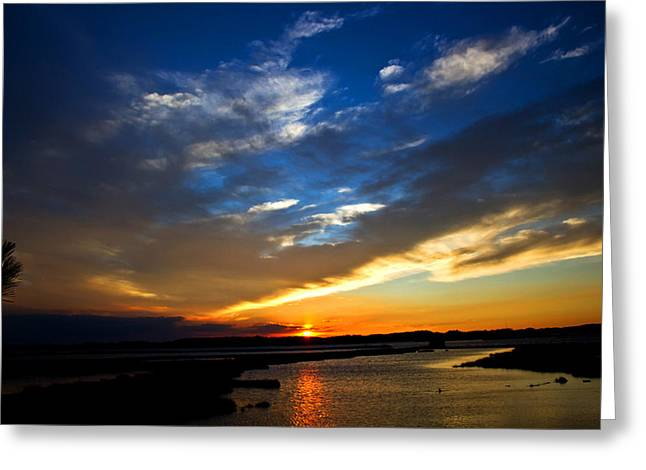 Sunset  Greeting Card by Tim Buisman