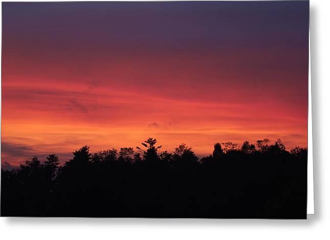 Sunset Tones Greeting Card