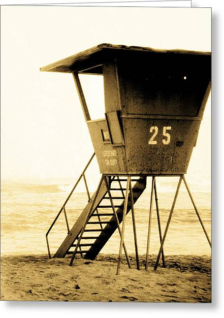 Sunset Tower 25 Greeting Card