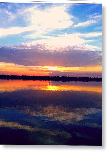 Greeting Card featuring the photograph Sunsets In The Holy City by Joetta Beauford